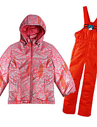 Sports Ski Wear Ski/Snowboard Jackets / Clothing Sets/Suits Kid's Winter Wear Classic Winter Clothing Thermal / Warm / WindproofSkiing /