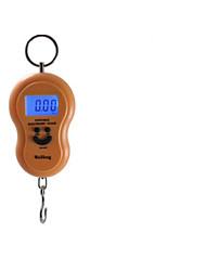портативные электронные весы (максимальный масштаб: 30кг, цифровой дисплей, цвет случайный)