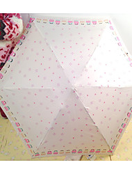 Cute Little Fresh Ultra Light Five Folding Umbrella Creative