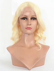"""venta caliente de 8 """"24"""" peluca ondulada del cordón del color del pelo virginal brasileño # 613 peluca ondulada"""