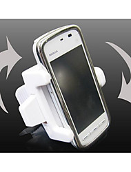 Commercial Vehicle Mobile Phone Frame -1107W White Retractable Rotating Multi Fixed Mobile Phone Holder