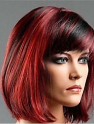 perruque Blonde Perruques pour femmes Noir rouge Perruques de Costume Perruques de Cosplay