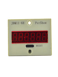JDM11-6H, Six, Electronic Counter