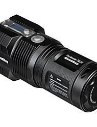 Nitecore® TM26  Lampes Torches LED LED 4000 Lumens 5 Mode Cree XM-L T6 18650 26650Intensité Réglable Etanche Rechargeable Taille Compacte Ultra