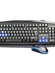 Wired PS/2 Keyboard & Mouse