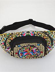 Women Canvas Casual Waist Bag