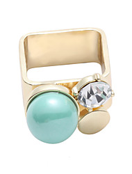 LGSP RingMidi RingsJewelry Alloy Fashionable Casual Gold 1pcOne Size Women