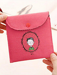 Women Linen Professioanl Use Coin Purse