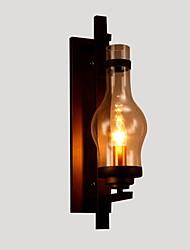 AC 100-240 MAX 60W E26/E27 Tradicional/ Clásico Pintura Característica for Mini Estilo,Luz Ambiente Candelabro de pared Luz de pared