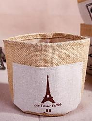 хлопковая ткань мусора ящик для хранения ящик для хранения рабочего стола