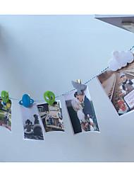 Acessórios do partido Acessório para Fantasia Aniversário Tema rústico Other Não-Personalizado Madeira Multicolorido 1Peça/Conjunto