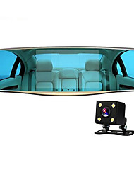5 Inch Rearview Mirror DVR HD Dual Lens 1080p Jelee Joint Permanent Auto Supplies
