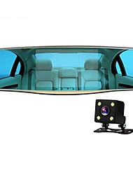 5 polegadas espelho retrovisor HD DVR lente dupla 1080p jelee conjunta fornecimentos auto permanentes