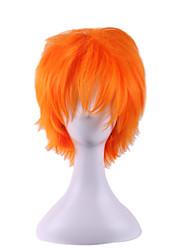 perruques cosplay jour xiang yang volley-ball jeune d'orange devenir cheveux gauchi 8inch