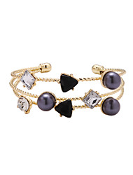 LGSP  Bracelet/Cuff Bracelets Alloy Star Fashionable Daily Jewelry Gift Gold