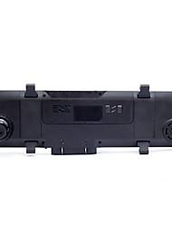 um gravador de 4,3 polegadas Ultra HD espelho retrovisor de condução, gravador de dupla 1080p lente inverter monitoramento de veículos de