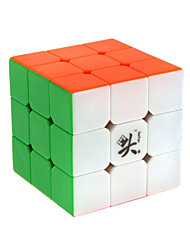 Dayan® Smooth Speed Cube 3*3*3 Magic Cube Rainbow Zhanchi Anti-pop / Adjustable spring ABS