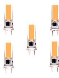 Ywxlight 5pcs regulable 5w g8 llevó la luz blanca del BI-perno 1cob 350-450lm caliente / la CA blanca 220v / 11 v