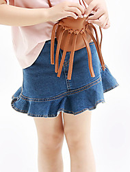 Girl's Cotton Summer Fashion Denim Skirts Jeans Skirt
