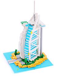 Micro Blocks Burj Al Arab Small Building Block Set  Nanoblock Compatible