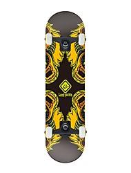 """Skateboard 31"""" Professional Speed Drop Down Complete Longboard Skateboard ABEC-9 High Speed bearings Wheels"""