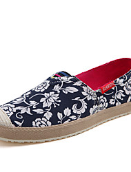 Women Retro Casual Canvas Breathable Slip-on Flats&Loafers