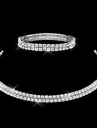 Schmuck Halsketten / Armband Halskette / Armband / Braut-Schmuck-Sets Modisch / Inspirationen Hochzeit / Party / Alltag / Normal 1 Set