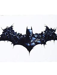 1pc Body Art Tattoo for Women Men Savior Batman Hero Design Temporary Tattoo Sticker Favor Souvenir Gift HB-404