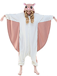 NEWCOSPLAY Flying Squirrel Polar Fleece Adult Kigurumi Pajama