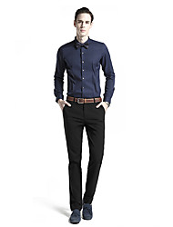 Men's Solid Casual Suits,Polyester Multi-color