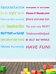 AOFU Words & Quotes Wall Stickers Plane Wall Stickers Decorative Wall Stickers, Home Decoration Wall Decal ZY8332
