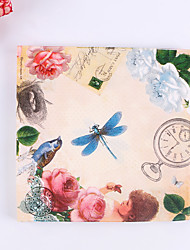 100% virgin pulp 20 pcs Garden Wedding Napkins