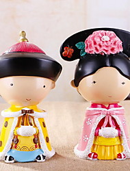 Creative Cute Qing Couple Piggy Bank Ornaments