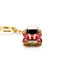 Crystal Metal Car with Keychain USB 2.0 Flash Pendrive U Disk 32GB /16GB/8GB