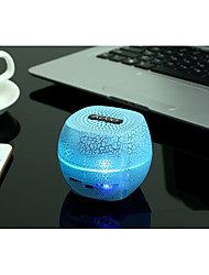 alto-falante Bluetooth digital / presente / Mini / canhão / bluetooth estéreo tipo / box / colorido LED