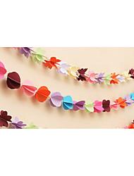 Acessórios do partido Acessório para Fantasia Aniversário Tema Clássico Other Não-Personalizado Cartão de Papel Duro Multicolorido