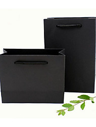 New Creative Gift Paper Bags Leather Bags Environmental Protection Hand Bag Can Be Customized