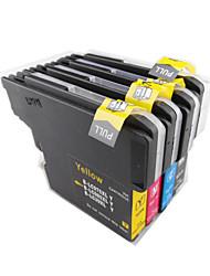 encre lc975 cartouche 985BK machine d'impression couleur pour un groupe de quatre de couleur noire, rouge, jaune, bleu