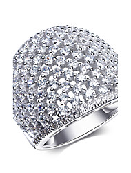 Party Accessories 925 Sterling Silver Cubic Zircon Rings For Women New Wedding Bridal Jewels
