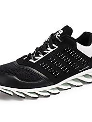 Femme-Décontracté / Sport-Noir / Bleu / Vert-Talon Plat-Nouveauté-Chaussures d'Athlétisme-Tulle