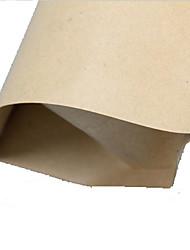 sacos de processamento de papel kraft de alto grau de sacos de alumínio pé ziplock selado embalagem saco de comida de dez 9 * 3 * 14