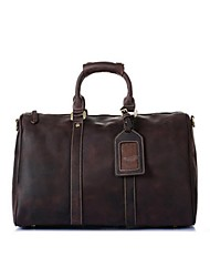 Men Cowhide Casual Travel Bag
