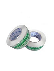 cinta fondo blanco advertencia palabra verde (de 4,5 cm de ancho * 2,5 cm de espesor, dos volúmenes y una venta)