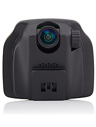 Hidden Travelling Data Recorder, Dual Lens 1080P Mini HD Night Vision High Angle Integrated Machine Driving Recorder