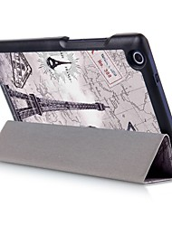 8 Inch Magnetic Buckle Pattern PU Leather Case with Sleep for Lenovo TAB 2 A8-50(Assorted Colors)