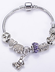 Fashion Jewelry Bracelets&brangle Glass European Beads bracelets for Women Gift Strand Beads bracelets BLH7256