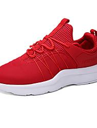 Masculino-Tênis-Rasos-Rasteiro-Preto / Azul / Vermelho / Preto e Branco-Tule-Para Esporte