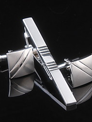Men Copper  Silver Fashionable Tie Clip
