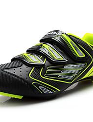 Chaussures Vert / Orange Matières Personnalisées Cyclisme Femme