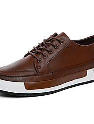 Men's Shoes Fashion Sneakers Canvas Leather Shoes